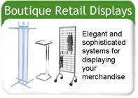 Boutique Clothing Displays